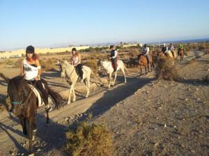 Rutas a caballo en Almería