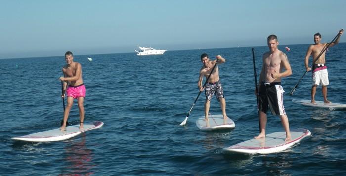 Paddle surf en Roquetas