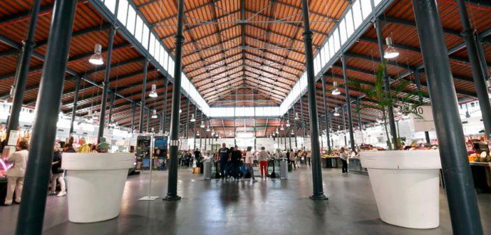 interior Mercado Central de Almería