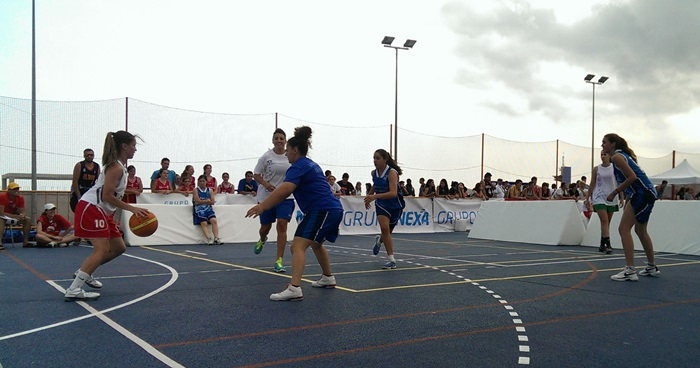 Baloncesto 3x3 en Almería