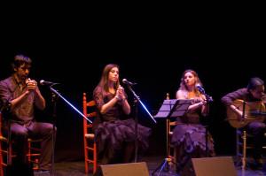 Cante flamenco.