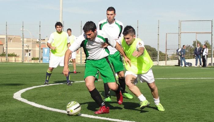 liga municipal de fútbol 7 en el ejido