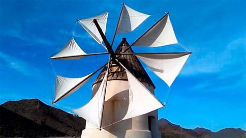 Molino del Collado de los Genoveses Níjar Almería Cabo de Gata