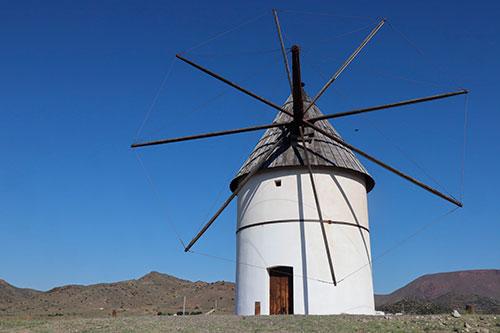 Molino en Níjar,-Almería