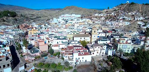 pueblo de Terque en Almería