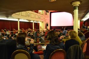 Cineclub en el Apolo.