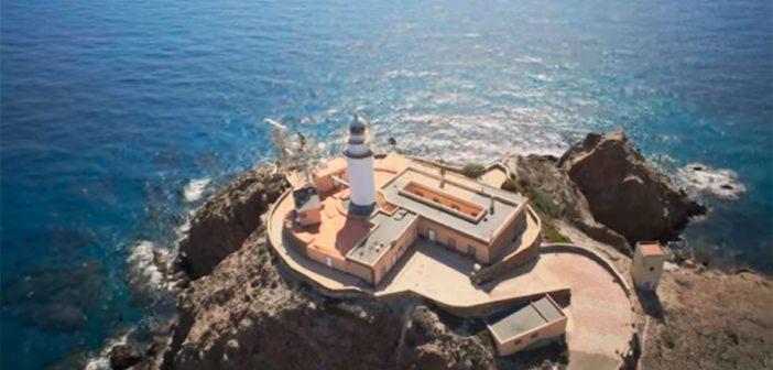 Faro Cabo de Gata vista aérea