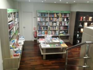 La casa de los libros.
