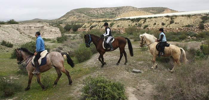 Excursiones a caballo en Almería