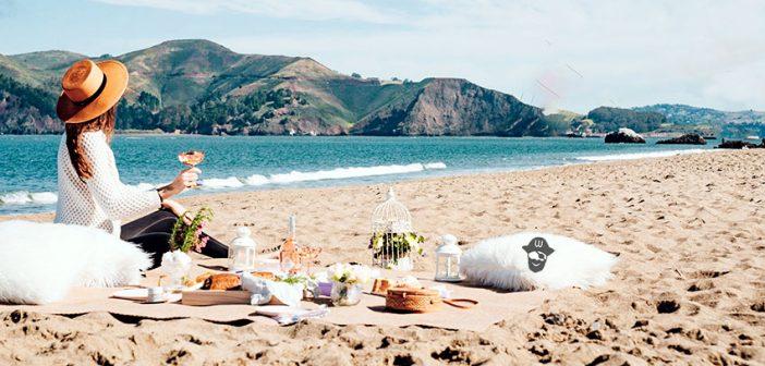 Consejos para un picnic saludable en la playa