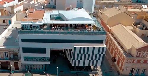 Terraza de la La Cuarta Planta Almería EMMA