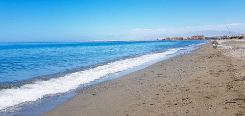 Playas de bandera en El Ejido