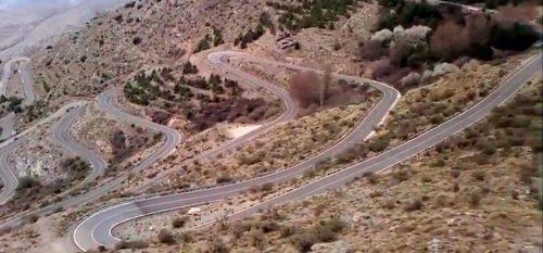 Velefique carretera curvas