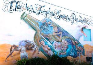 Pintura en pared Almocita Almería