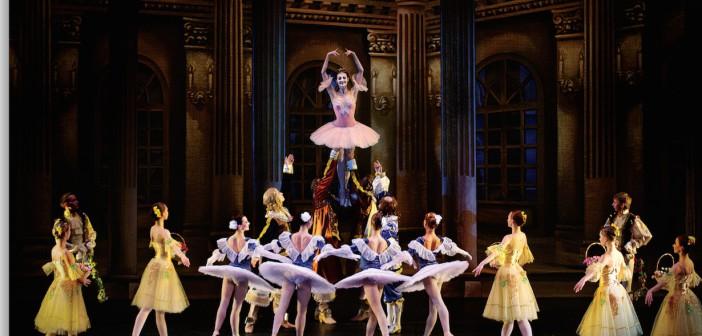 'La bella durmiente', ballet ruso en Roquetas de Mar