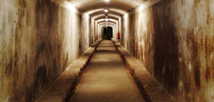 Refugios de Almería tunel subterraneo
