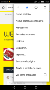 chrome-acceso directo weeky
