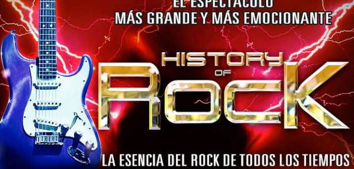 HISTORY of ROCK en Roquetas de Mar