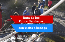 """Ruta de senderismo """"La Ruta de los Cinco Senderos"""""""