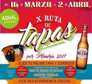 X Ruta de Tapas por Almería 2017- ASHAL