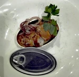 Calamar en salsa americana