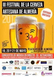 III Festival Cerveza Artesana Almería 2017