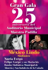 gala25 aniversario Maestro Padilla