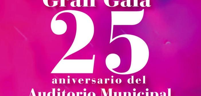 Gala 25ºaniversario del Auditorio Municipal Maestro Padilla