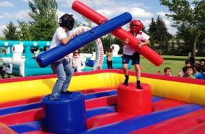 gladiadores lucha