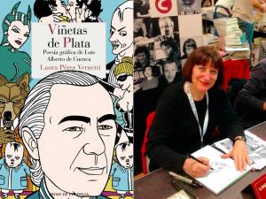 """Laura Pérez Vernetti """"Viñetas de Plata""""."""