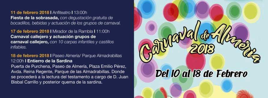 almeria carnaval 2018
