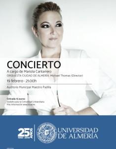 concierto  Mariola cantero