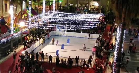 little park pista de hielo