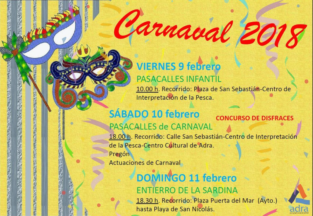 carnaval adra 2018