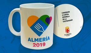 ALMERIA CANDIDATA CIUDAD ESPAÑOLA GASTRONOMIA taza