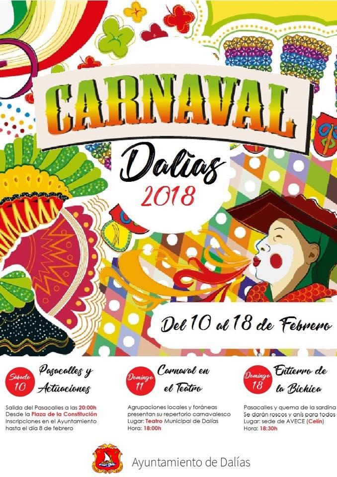 dalias carnaval 2018