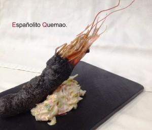Españolito quemao