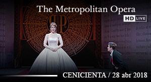 Cenicienta MET LIVE 17-18