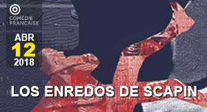 Los Enredos de Scapin COMÉDIE FRANÇAISE 17-18