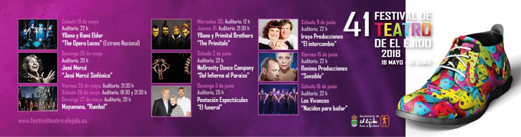 Festival de teatro El Ejido 2018