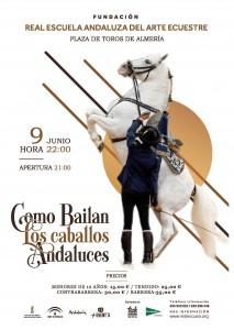 Cómo Bailan los caballos Andaluces-Almería