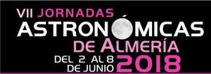 VII Jornadas Astronómicas Almería 2018