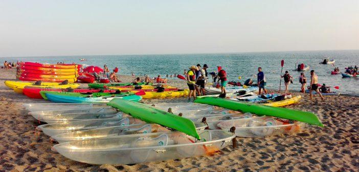 Actividad - Kayak de Cristal
