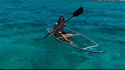 Kayak de Cristal en Cabo de Gata Almería