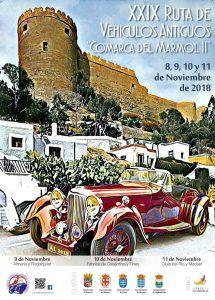 """XXIX Ruta de Vehículos Antiguos """"Comarca del Mármol II"""""""
