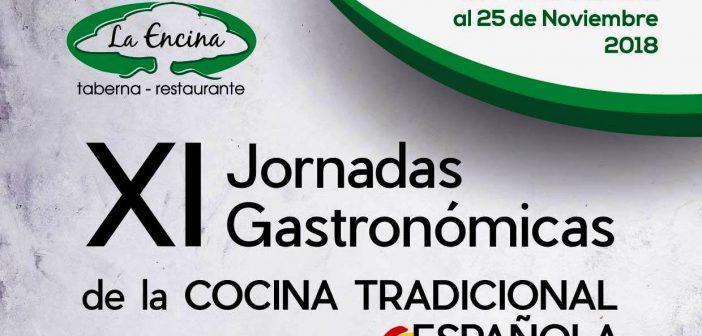 XI Jornadas Gastronómicas de la Cocina Tradicional Española de La Encina - Almería