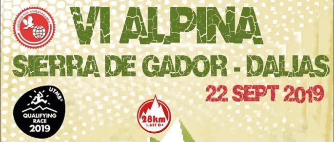 Carrera ALPINA Sierra de Gádor-Dalias 2019