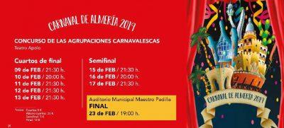 Invierno Cultural Almería 2019