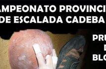 Campeonato Provincial de Escalada Cadeba en Dalías