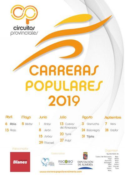Circuito Provincial de Carreras Populares Almería 2019